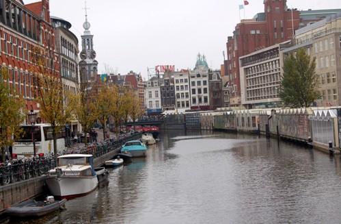 In giro per l olanda i canali for Case galleggianti amsterdam