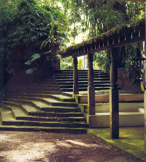 I giardini dell anima lunuganga - Scale in giardino ...