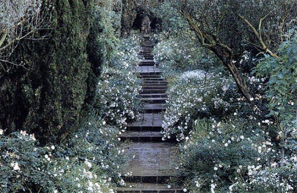 Giardini in bianco e nero e a colori - Pagine a colori in bianco e nero ...
