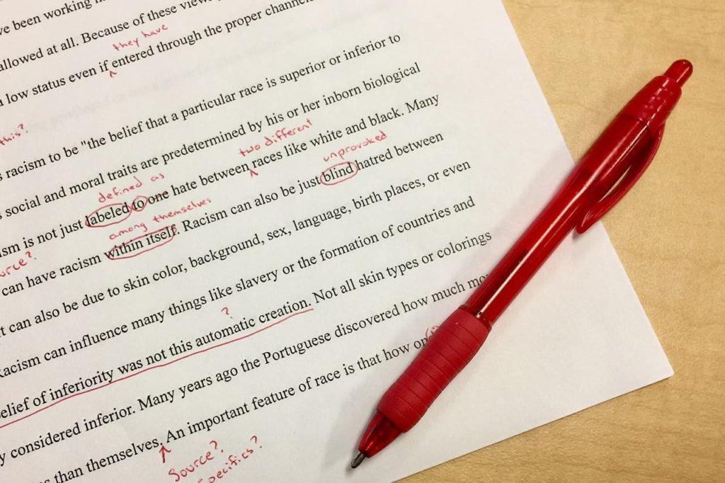 laboratorio editing letterario